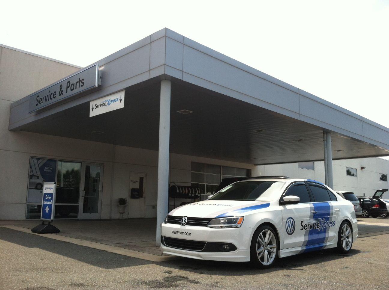 Carolina Volkswagen Service Express NOW OPEN! No Waiting