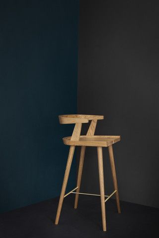 KBH High Chair Oak