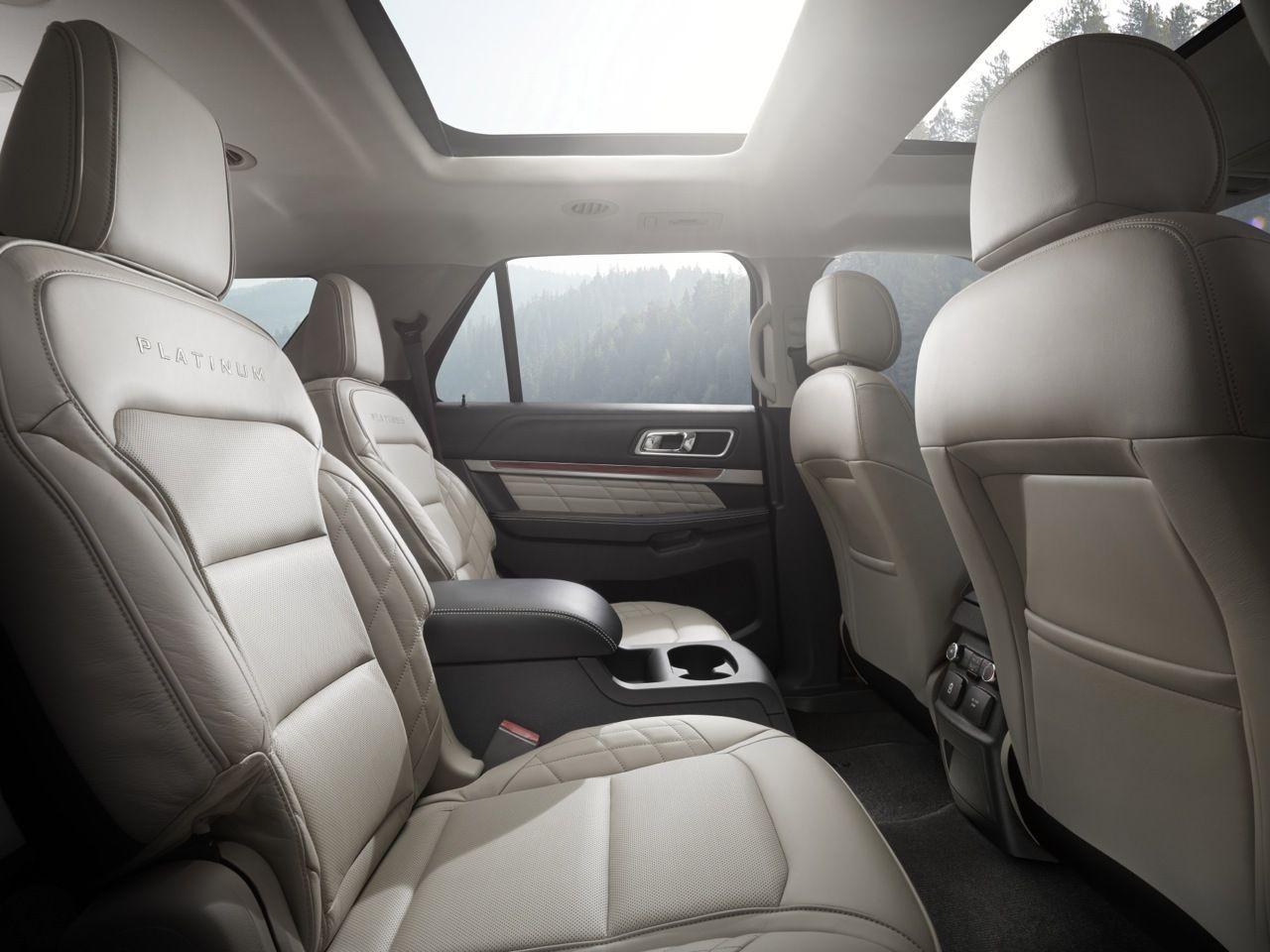 2016 Ford Explorer Interior Rear