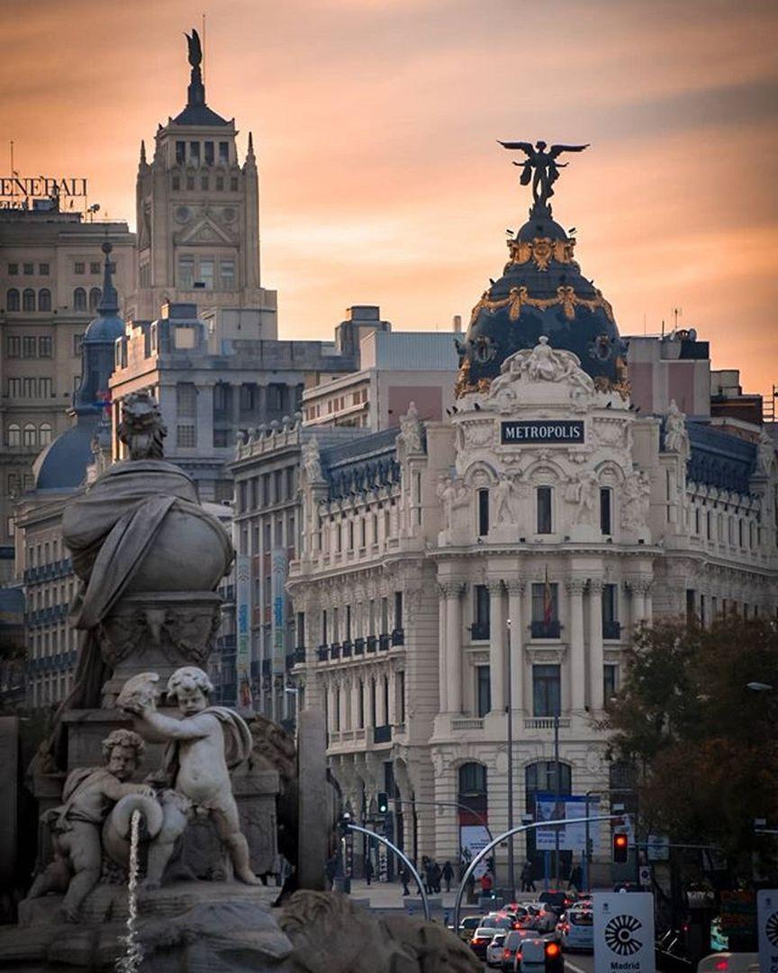 Fuente De Cibeles Madrid Follow Our Account About Life