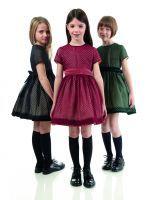Trio of polka-dotted devorè tulle dresses in black, burgundy and bottle green. Black brushed calfskin fringed lace-up shoe.   Coleção Outono Inverno 2014-15 Marca Fendi