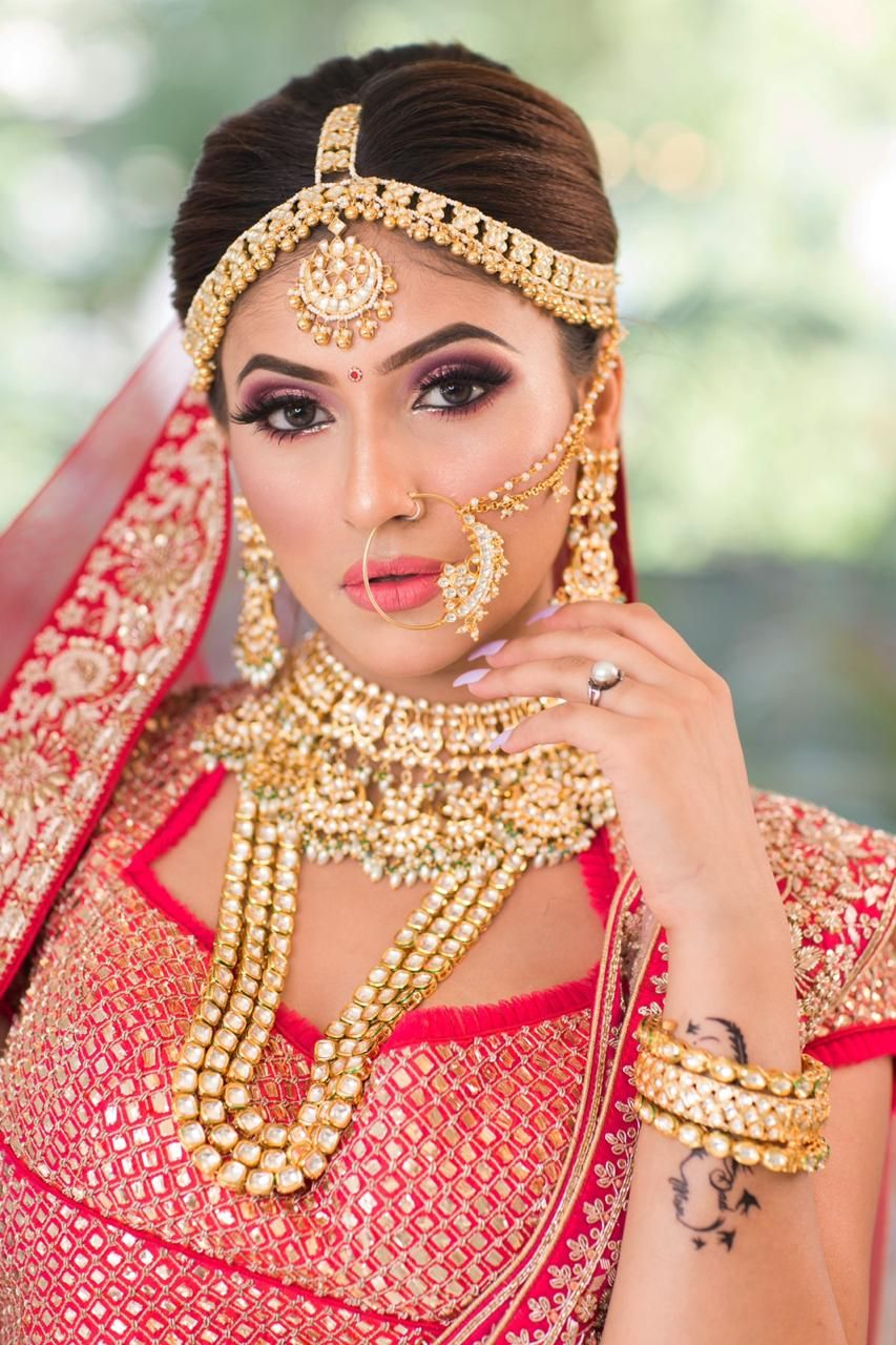Are you looking for a bridal makeup artist in delhi
