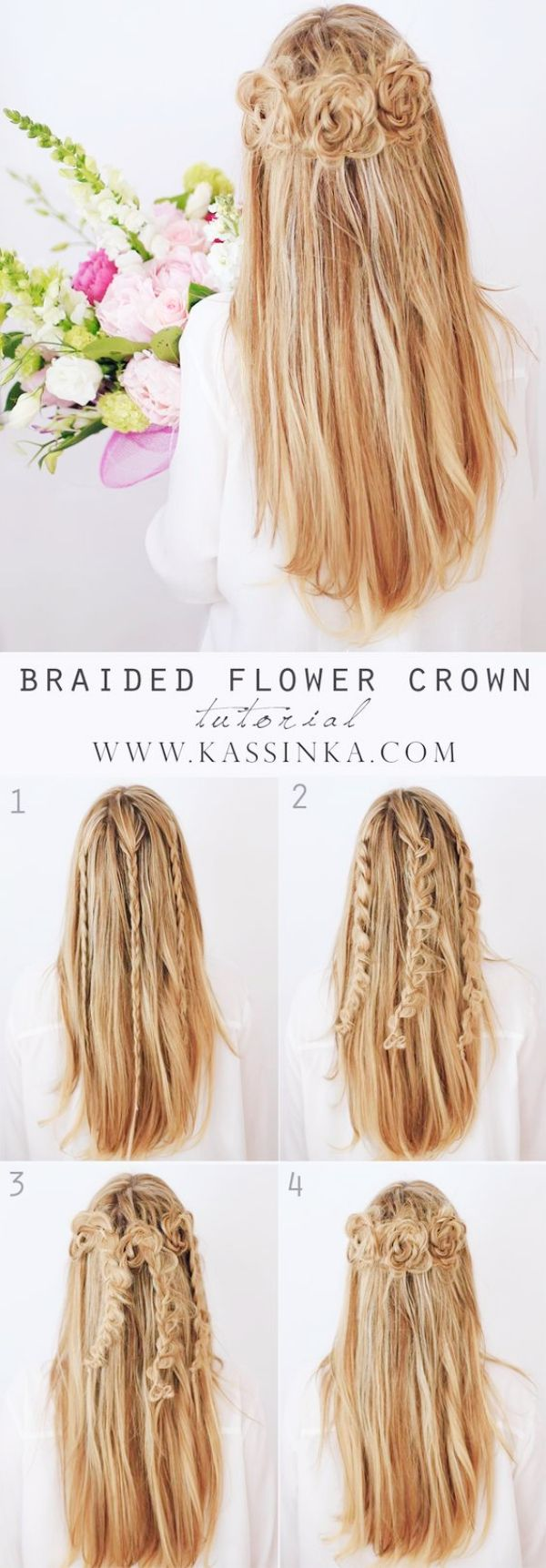 35 Greek Goddess Half-up Half-Down Hairstyles | Dance hair and Hair ...