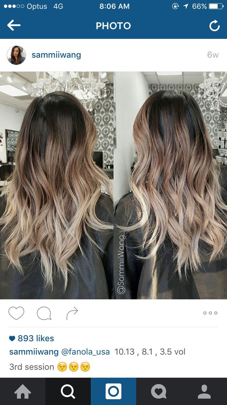 Ballayage Blond à sammi wang brown blonde ballayage | hair | pinterest | brown blonde