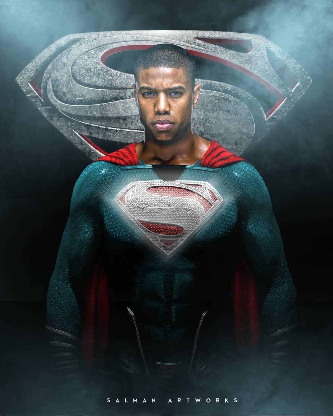 gorąca wyprzedaż buty na tanie gładki Michael B. Jordan aparece como Superman da Terra-23 em artes ...