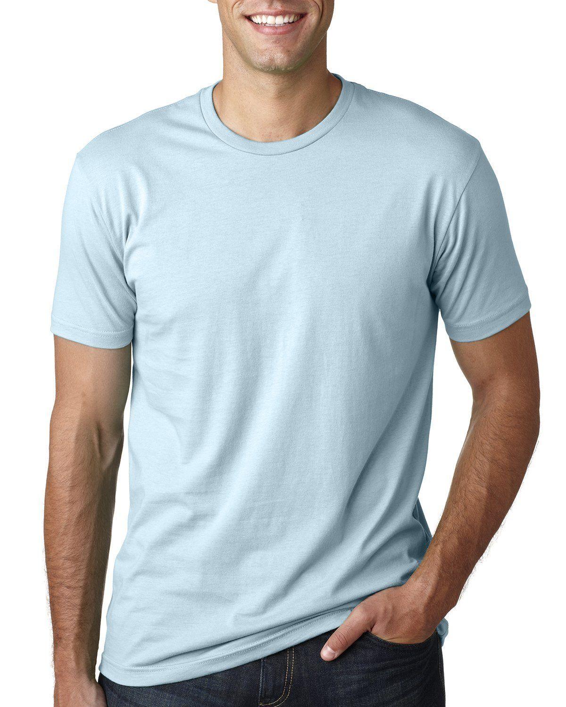 Next Level Cotton Crew 3600 Light Blue Plain Tee Shirts Shirts T Shirt