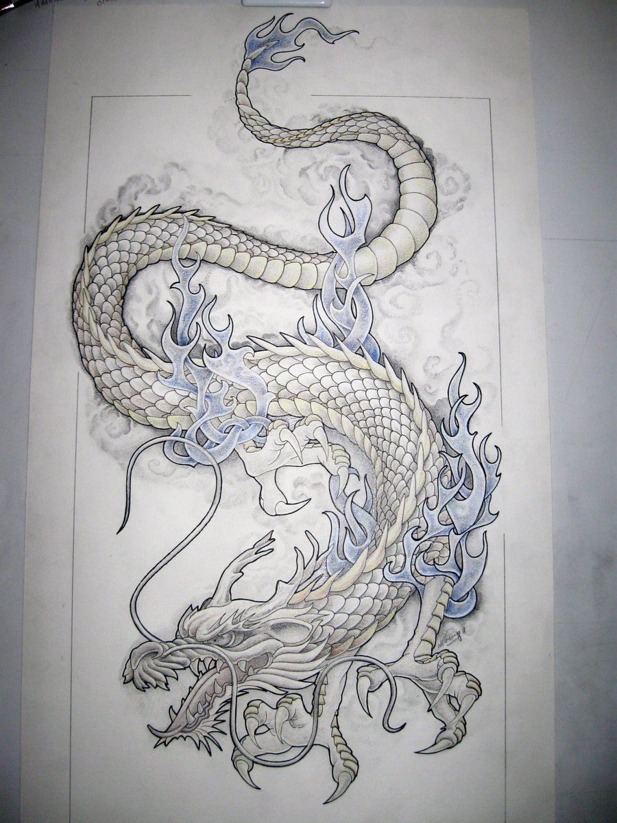 These dragon tattoo designs found their history from for Japanese tattoo art