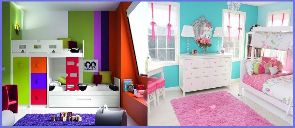 Colores para habitaciones juveniles LACASADEPINTURAS Pinterest