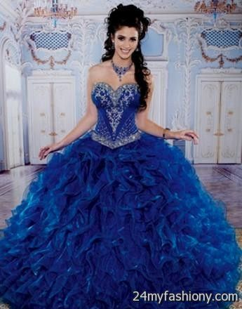 f4879ac51b90 royal blue and gold quinceanera dresses - Google Search | Quience ...