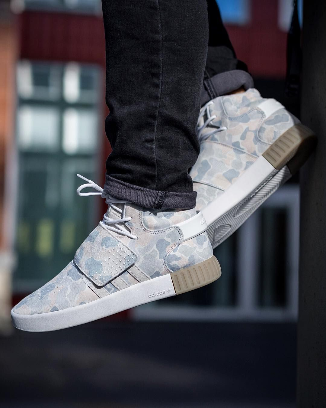 official photos 4a059 3adff adidas Tubular Invader Strap Duck Camo Pack