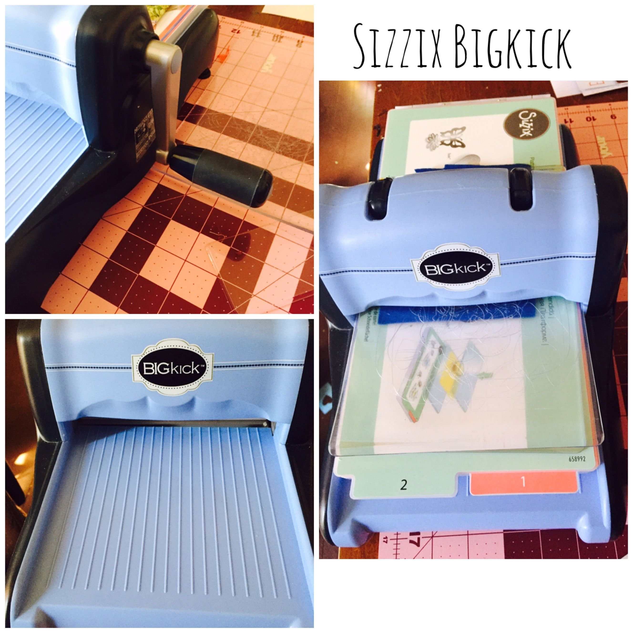Crafting with Sizzix, a manual die cutting machine that also