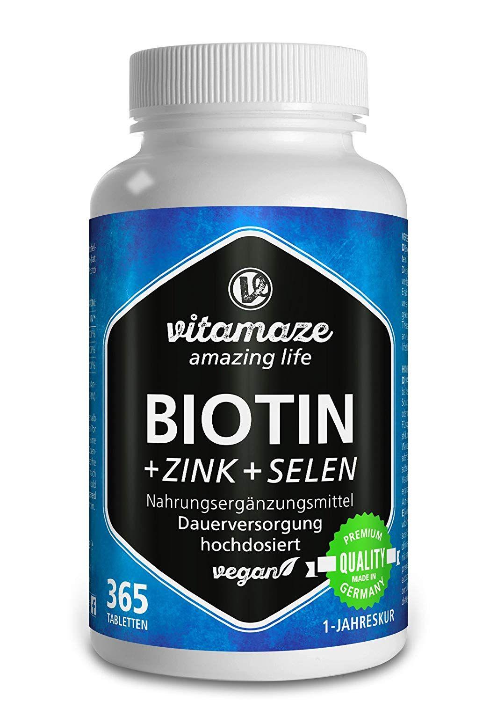 Die 5 besten VitaminNahrungsergänzungsmittel für schöne