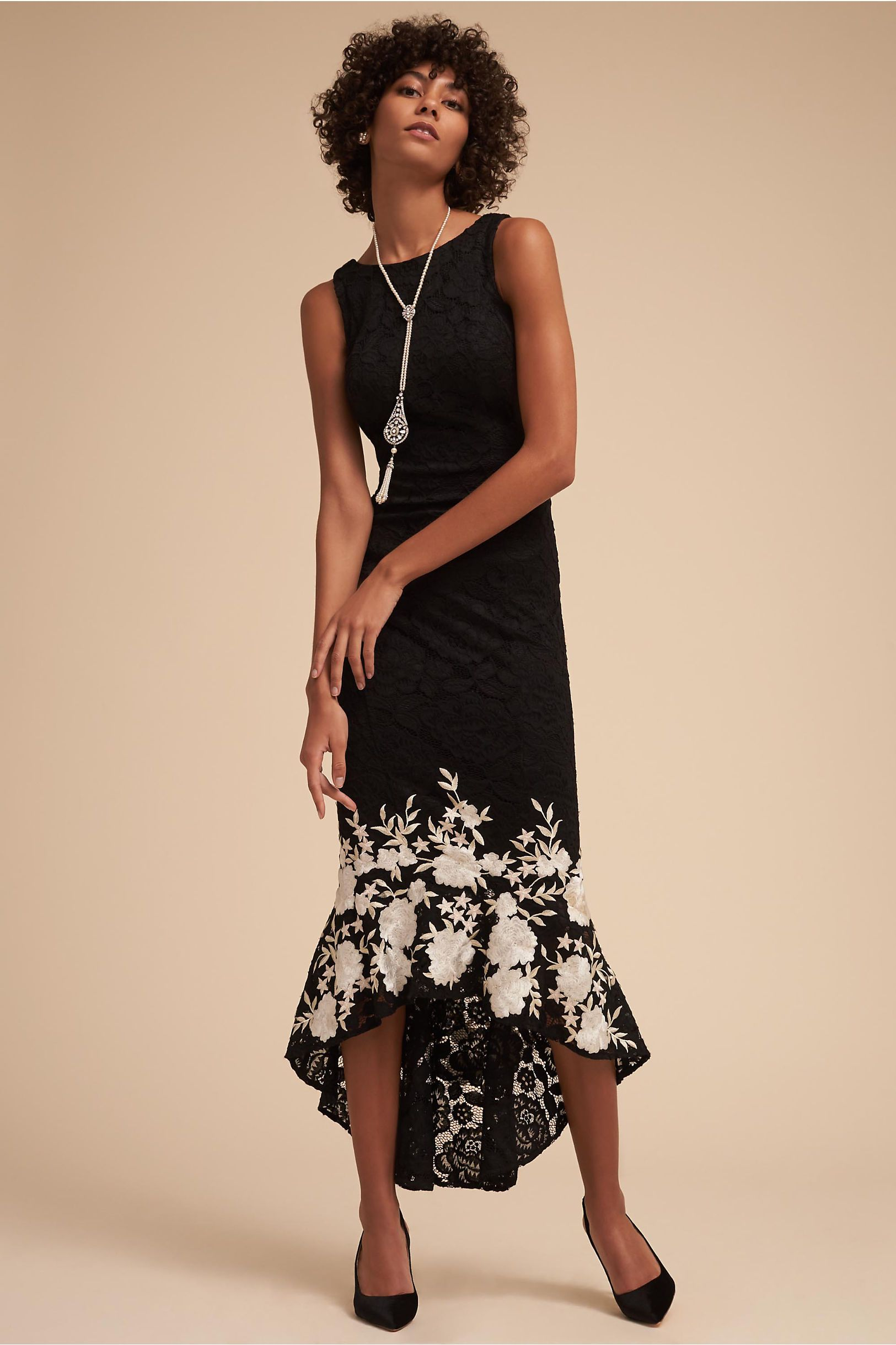735c6ae89c BHLDN Hewitt Dress Black White in Occasion Dresses