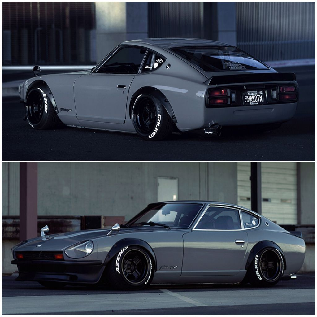 datsun 240z s30 fairlady z lowered stance jdm. Black Bedroom Furniture Sets. Home Design Ideas