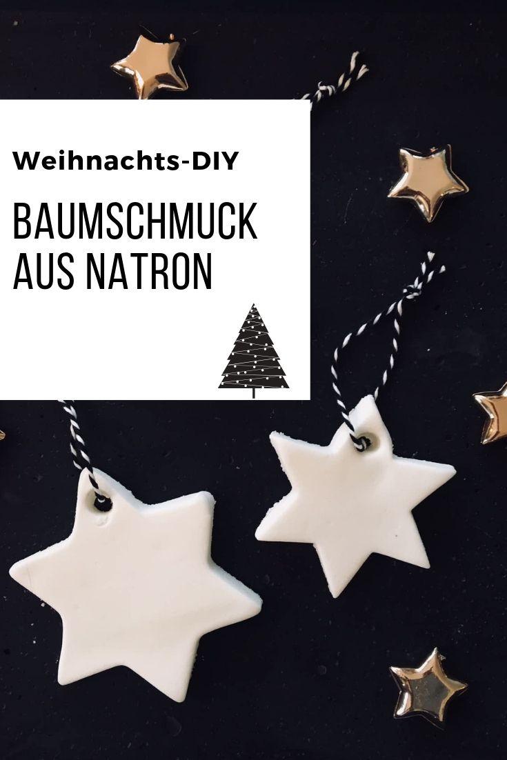 Tolle Weihnachtsdeko mit Natron herstellen