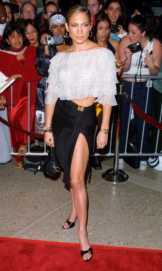 Jennifer Lopez's ShowStopping Fashion File Fashion