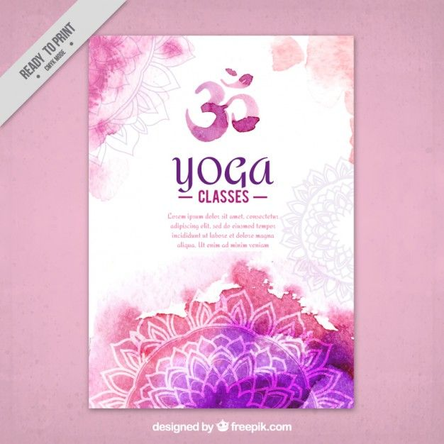 Yoga class event flyer poster template – Yoga Flyer