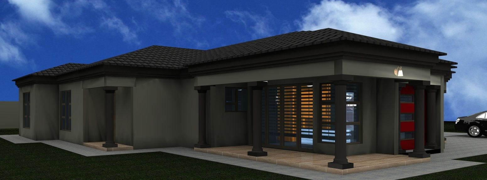 House Plan Mlb 007 House Plans South Africa Tuscan