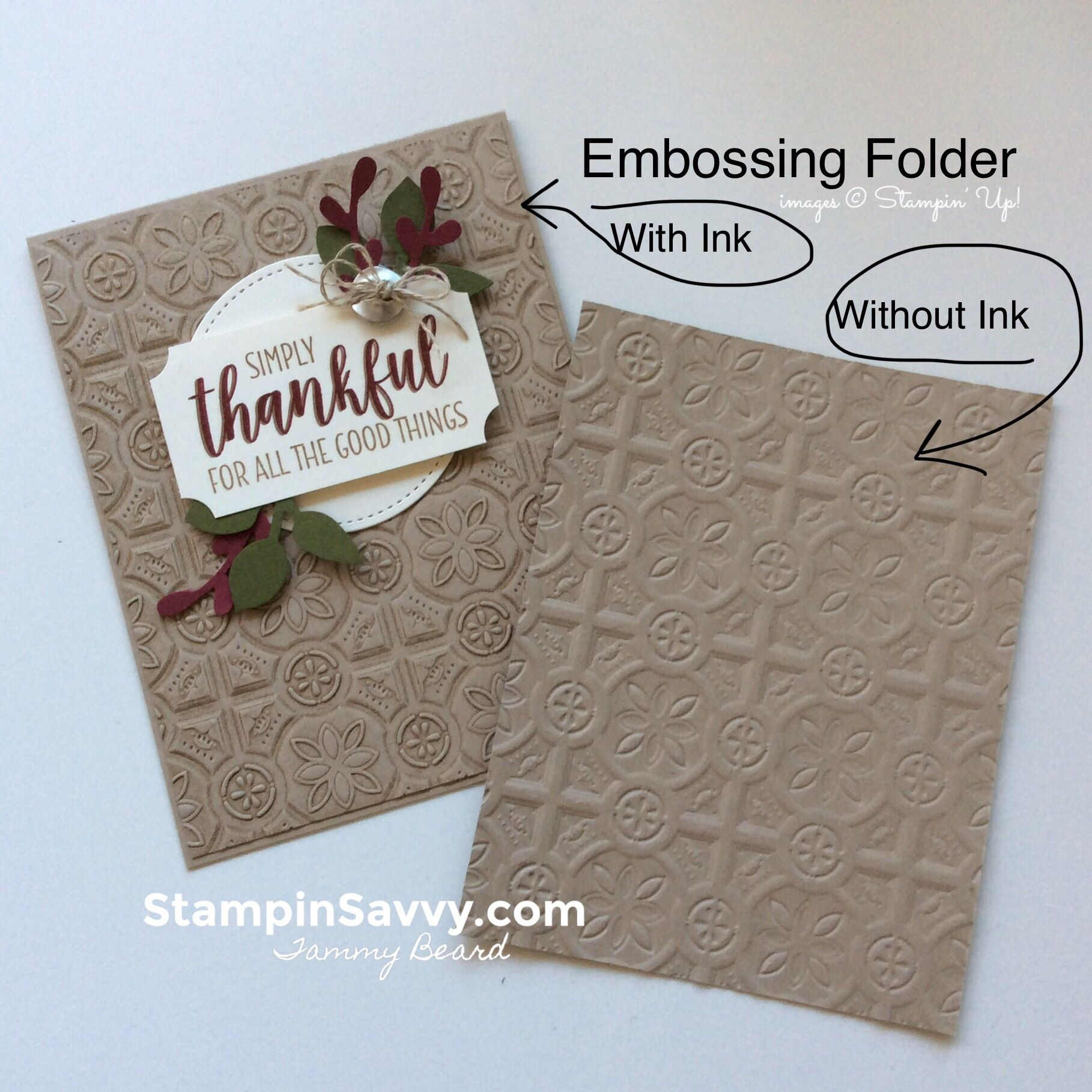 How To Add Texture To Cards With Embossing Folders Stampin Savvy Paper Craft Projects Handmade Paper Handmade Paper Crafts