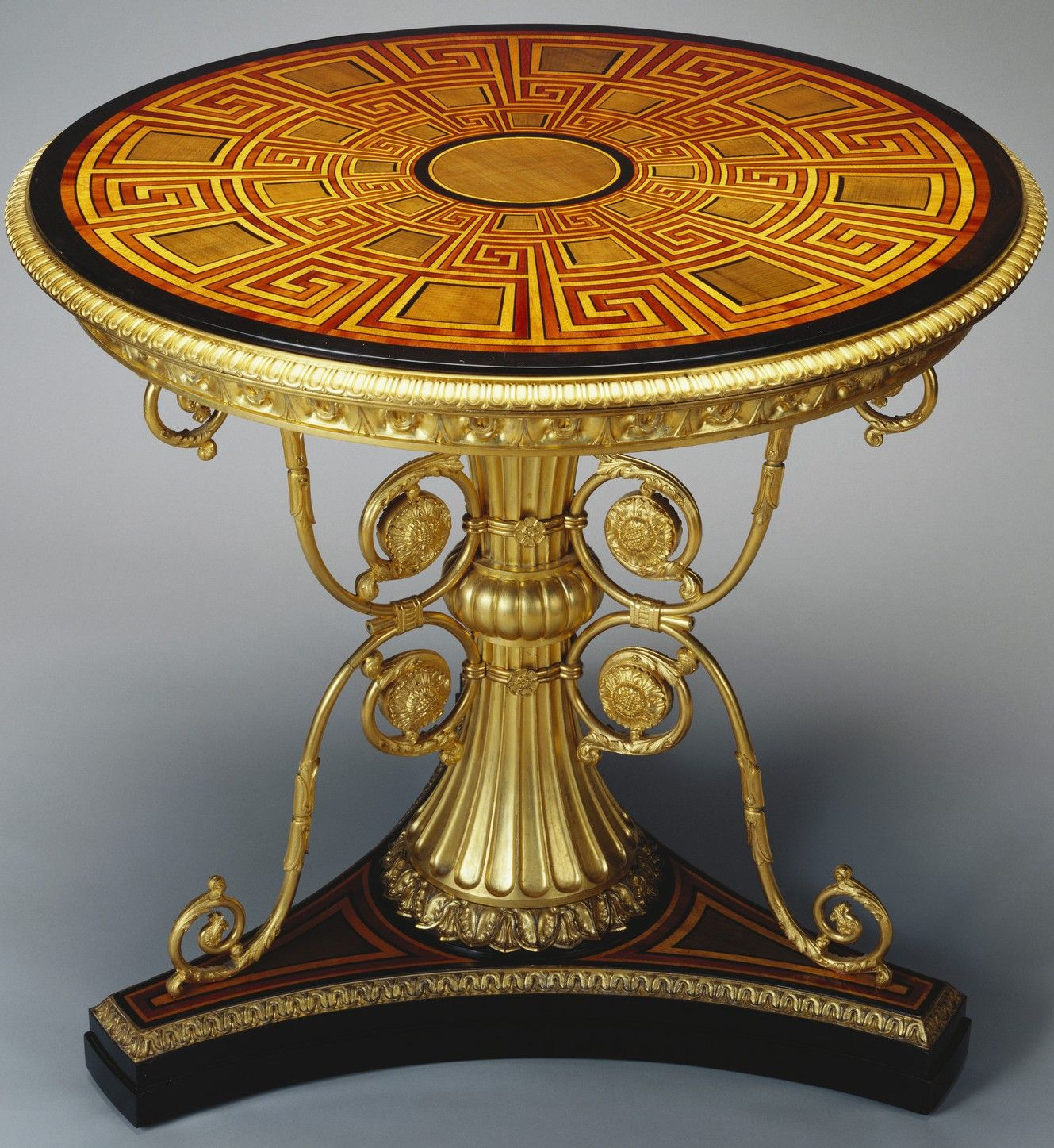 In The Royal Collection by Morel & Seddons 1828 England Circular ...