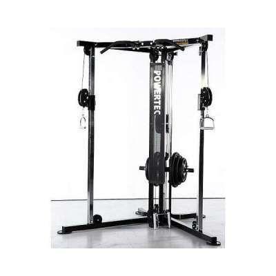 home gym powertec functional trainer  no equipment
