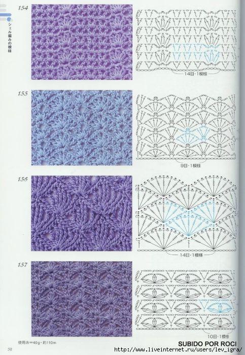 TRICO y CROCHET-madona-mía: Vestido Azul para niñas a crochet con ...