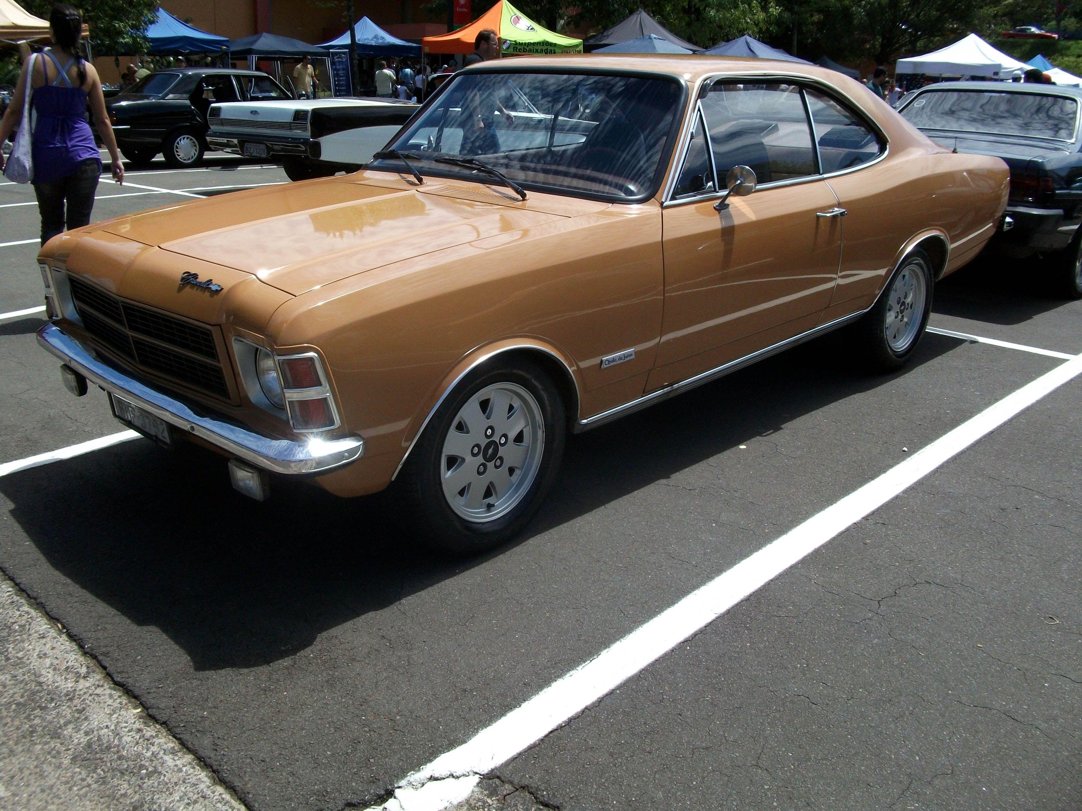 Chevrolet Opala De Luxo 1978 coupe