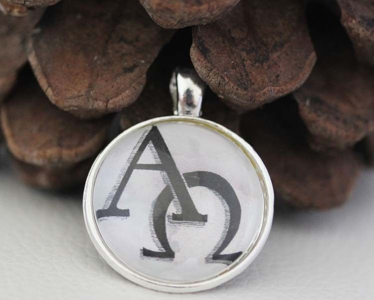 The alpha and omega symbols christian medal pendant religious the alpha and omega symbols christian medal pendant religious jewelry alpha omega mozeypictures Gallery