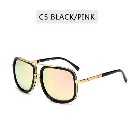 New Fashion Big Frame Square Metal Sun Glasses Gofashionova Sunglass Frames Mens Sunglasses Metal Sunglasses
