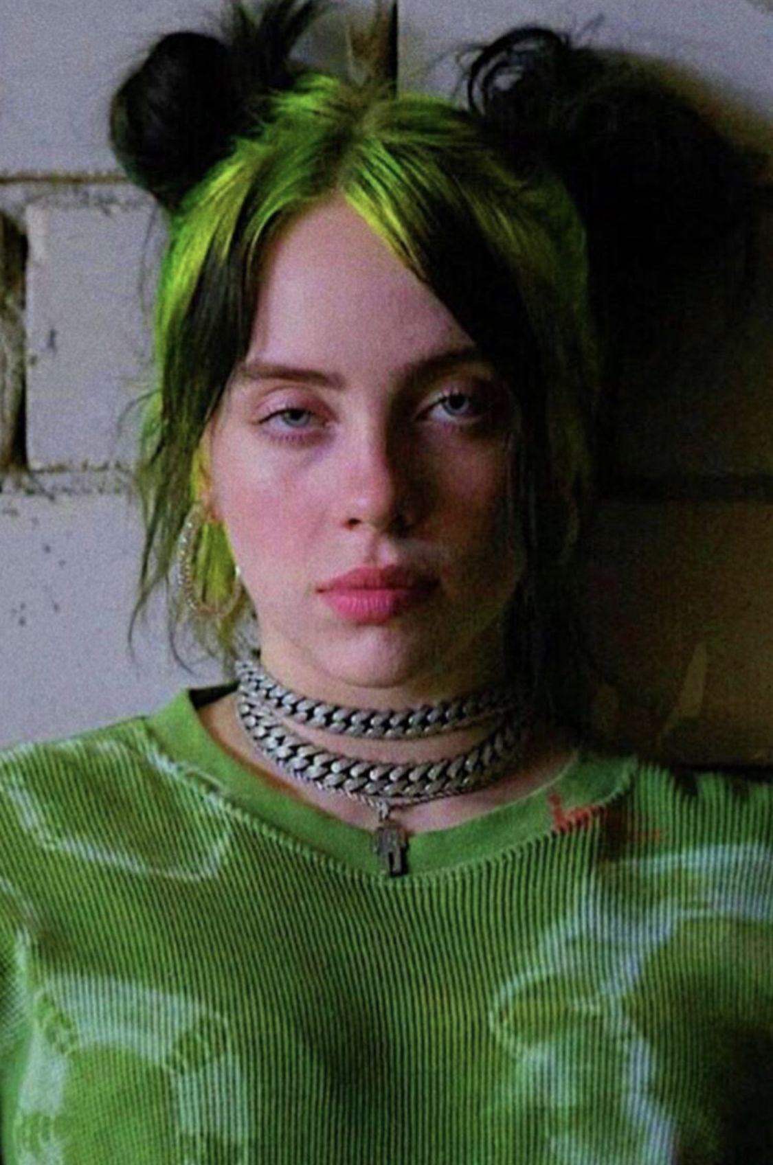 𝔟𝔢 𝔠𝔞𝔯𝔢𝔣𝔲𝔩 in 2020 Billie eilish, Billie, Green hair