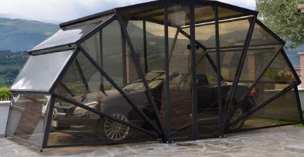 Gazebox Garage Gazebo And Carport Metal Iron And Pvc