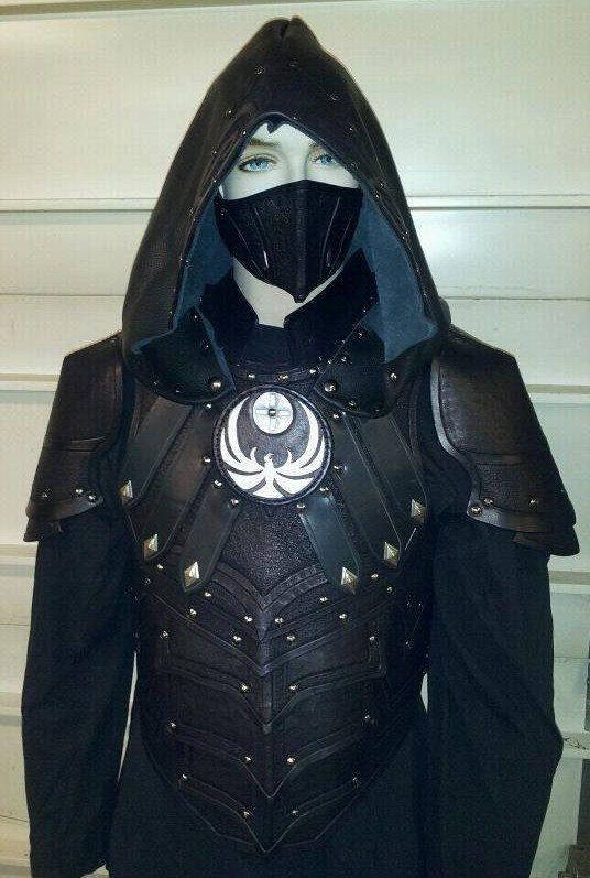Cosplay skyrim nightingale armor