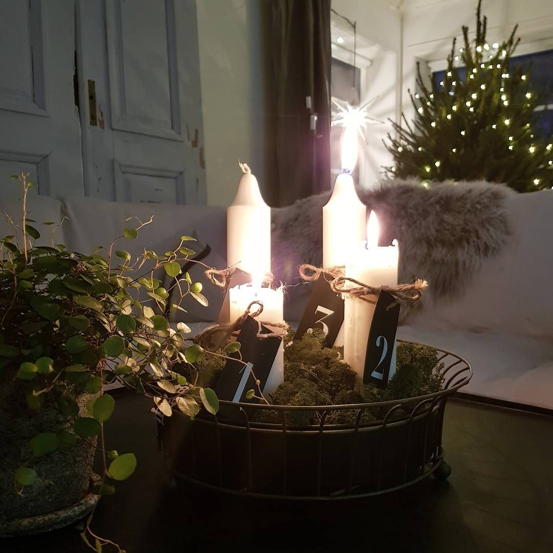 natural christmas green christmas scandinavian christmas candles natal candle sticks candy nordic christmas lights