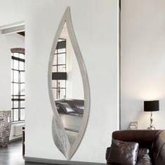 espejos modernos decorativos modelo hoja