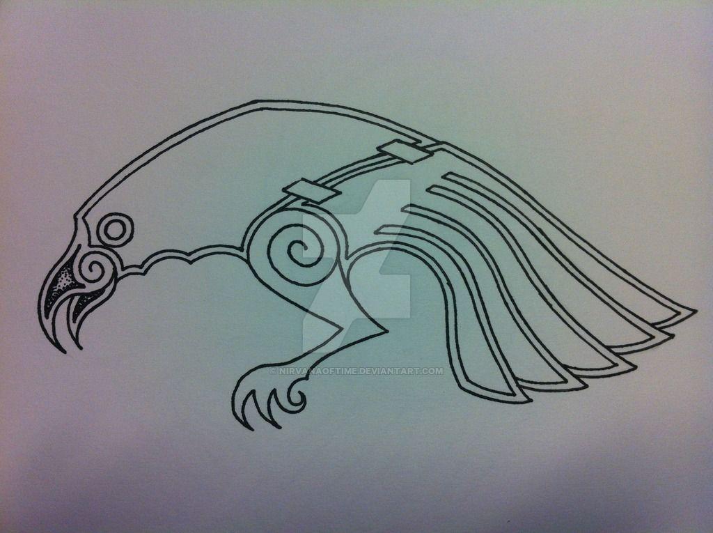 Raven Tattoo Design Finished by NirvanaOfTime | Tattoo ...