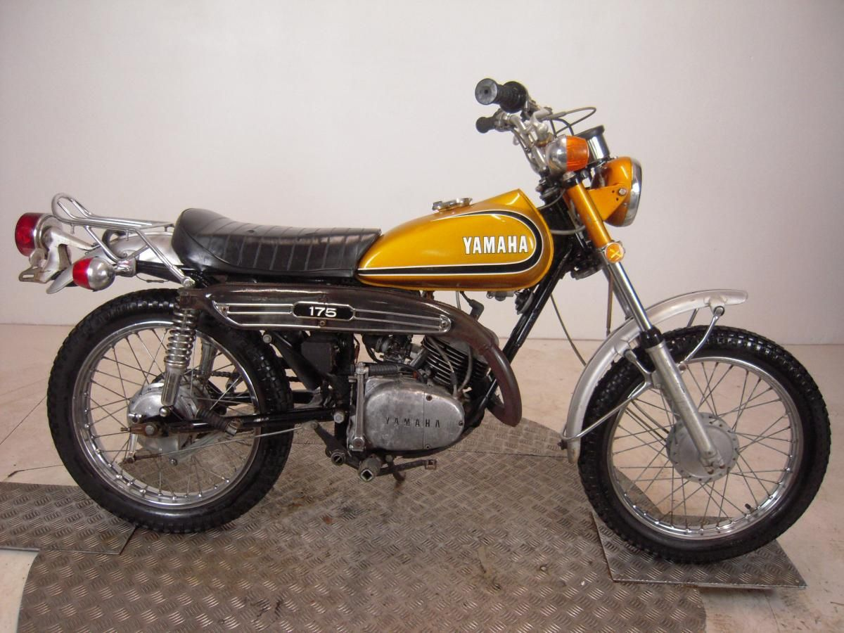 photos of 1973 yamaha ct1 175 details about 1973 yamaha ct3 175 enduro unregistered us import. Black Bedroom Furniture Sets. Home Design Ideas