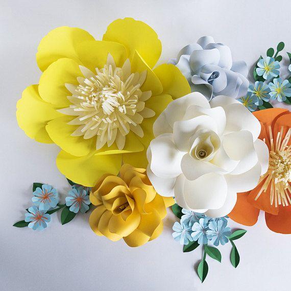 Paper Flowers, Crepe Paper Flowers, Paper Flower Wall, Paper Flower ...
