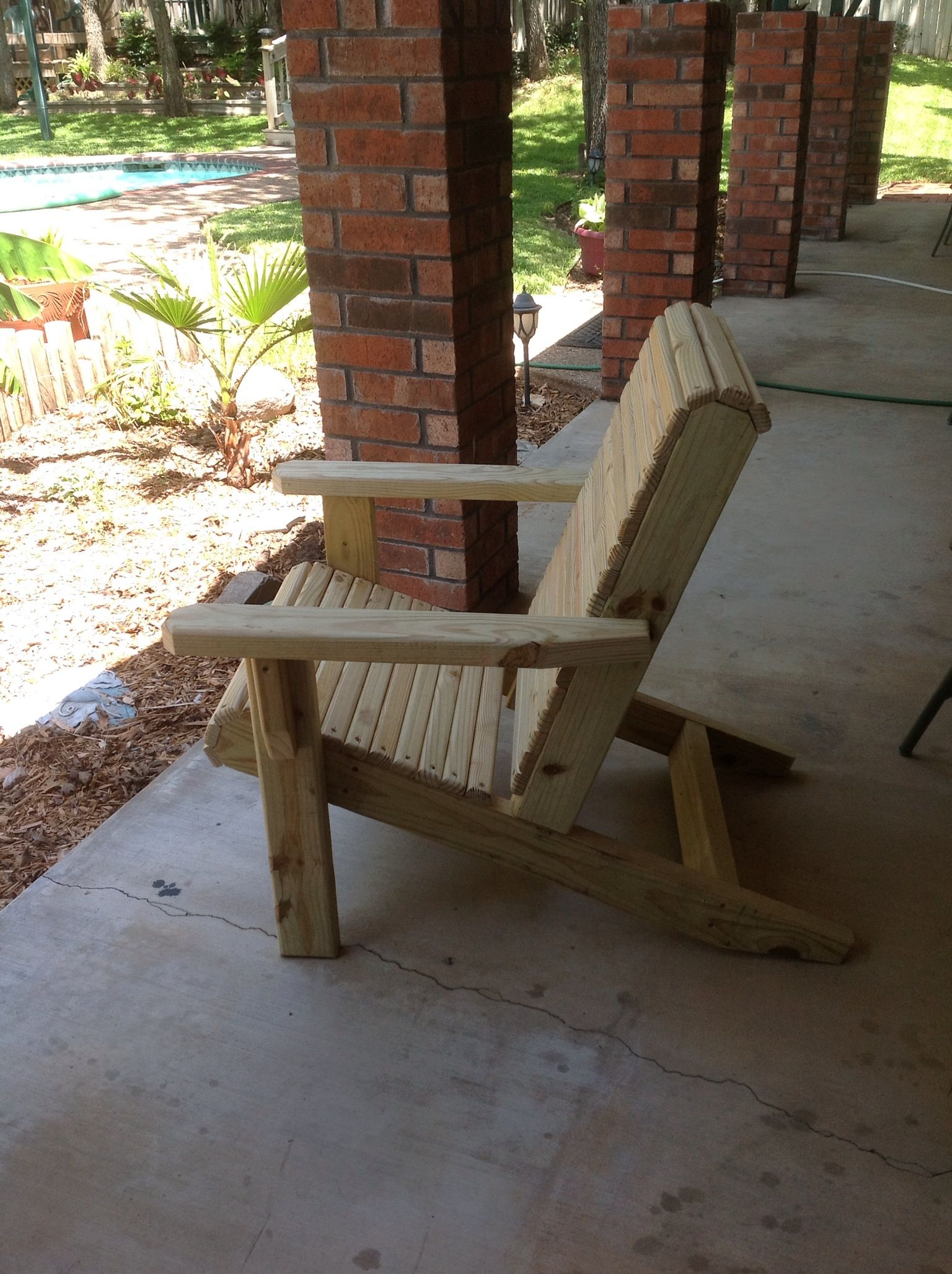 Furniture   Adirondack Chair Tony Smith, Weatherford, Texas 817 304 1453