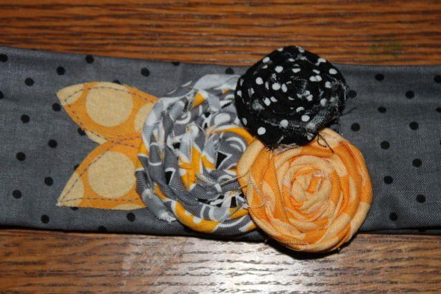 DIY rosette belt from @Kaysi Gardner