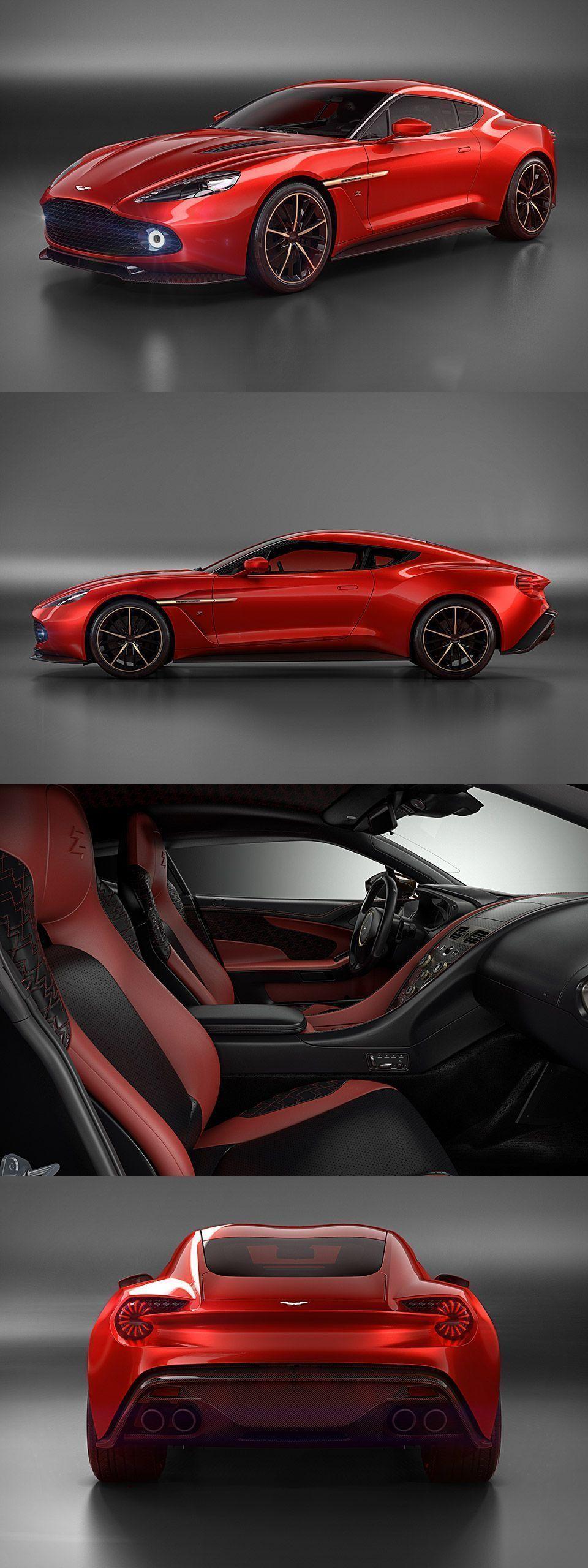 Aston Martin Vanquish Zagato Concept AstonMartin