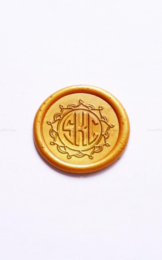 Monogram Wax Seal Stamp