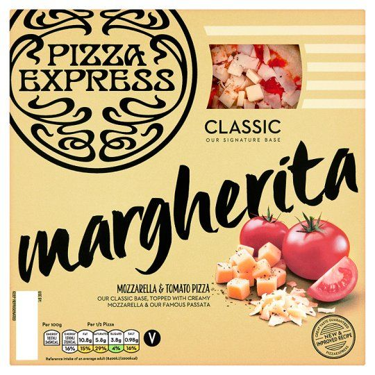 Pizza Express Margherita Pizza 245g Pizza Express Garlic