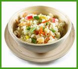 Receta de ensaladas calientes: Ensalada caliente de arroz