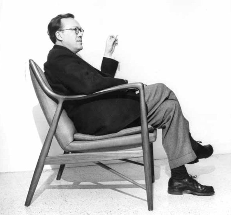 Danish furniture designer Finn Jhul (1945) finnjuhl.com