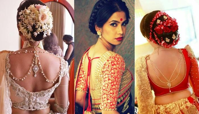 9fab4f73aae47 22 Beautiful Back Designs For Your Saree Blouses That Will Make You Look  All The More Graceful