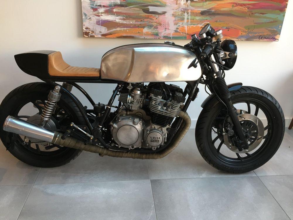 Yamaha XJ750 Cafe Racer   Boy Toys   Yamaha, Classic bikes