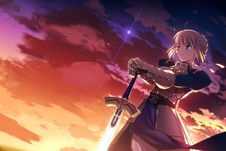 Saber Fate Wallpapers Ksatria Fakta Sejarah Seni Anime