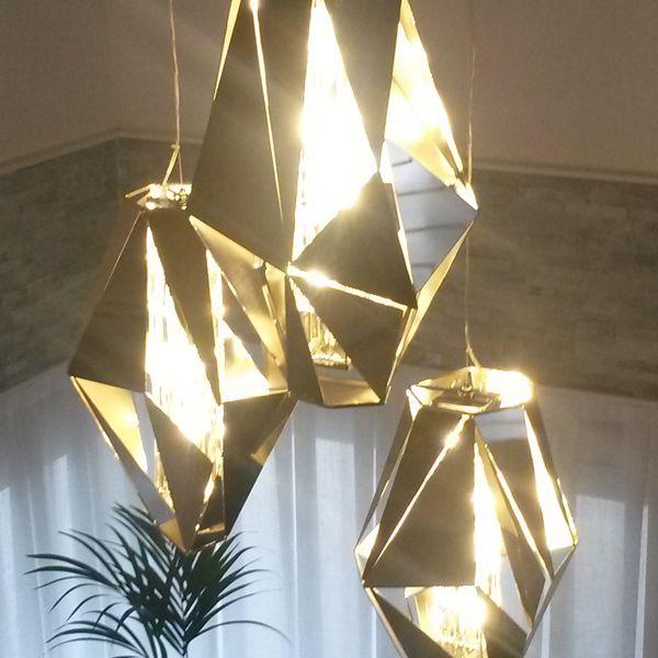 Luxury Euro Lighting  Crystal Rock Pendant  & Luxury Euro Lighting