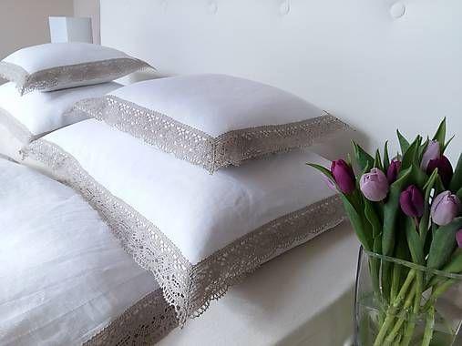 shabby.romantic / Ľanové posteľné obliečky Josephine