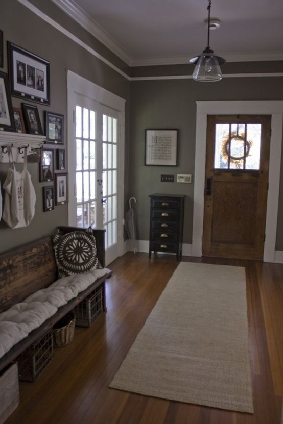 Love This Entry Way With Images Home Craftsman Cottage House